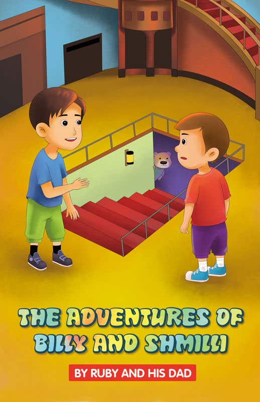 Kilpailutyö #22 kilpailussa Book cover/illustration for children's book