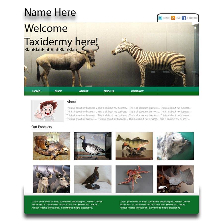 Bài tham dự cuộc thi #7 cho Graphic Design for Website Mockup