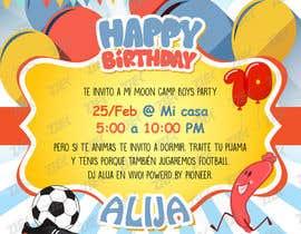 #8 for Birthday Invitation af anhpndesign