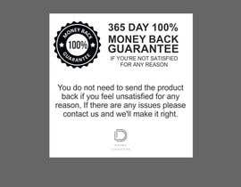 #13 для Infographic needed for money back guarantee от ConceptGRAPHIC