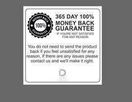 #14 для Infographic needed for money back guarantee от ConceptGRAPHIC