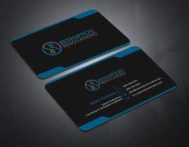 #12 для Business Cards for Redemption Renovations от abdulmonayem85