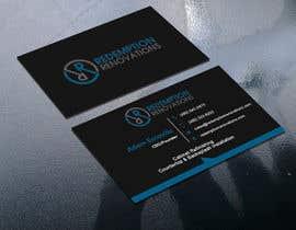 #57 для Business Cards for Redemption Renovations от sima360
