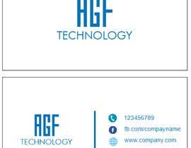 #45 for Design a Company Logo; and Create a sample business card with that logo af Black000
