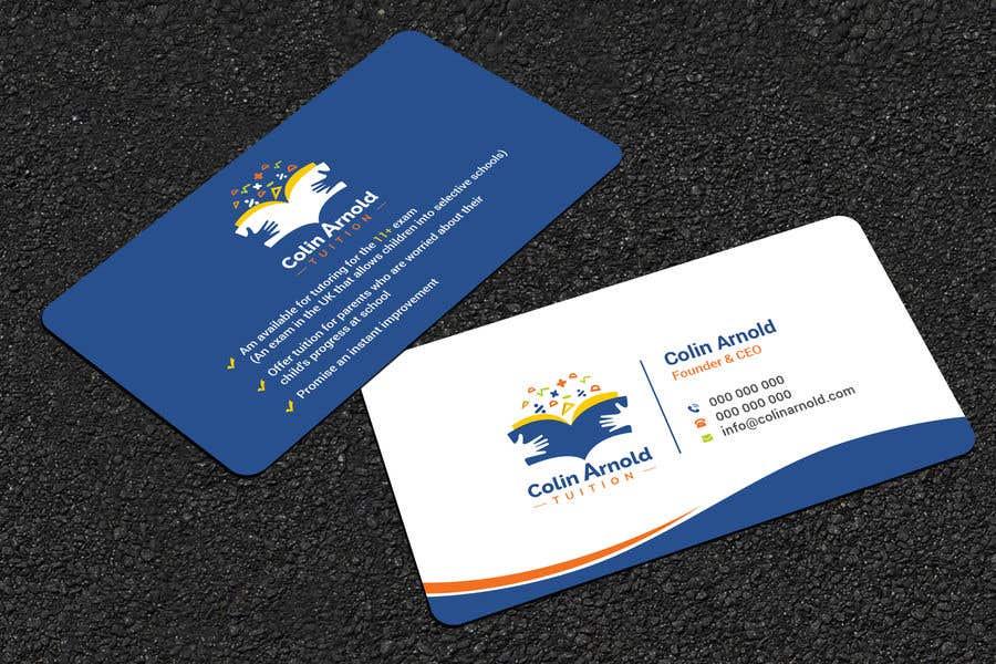 Kilpailutyö #182 kilpailussa Design a business card