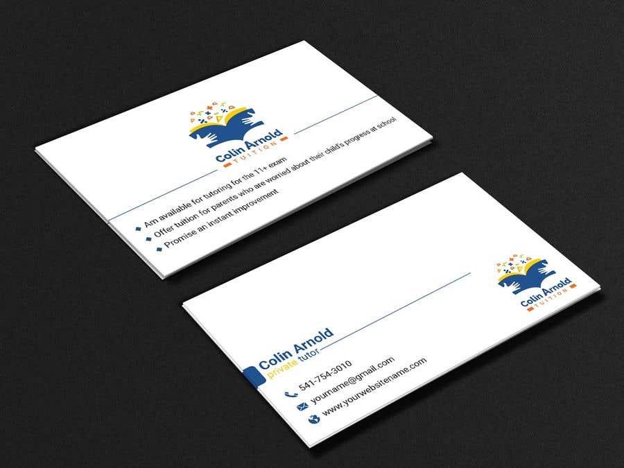 Kilpailutyö #390 kilpailussa Design a business card