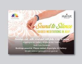 Nro 40 kilpailuun Poster for series of meditation classes in an art gallery käyttäjältä MOMODart