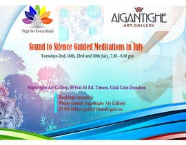 Nro 45 kilpailuun Poster for series of meditation classes in an art gallery käyttäjältä Marufahmed83