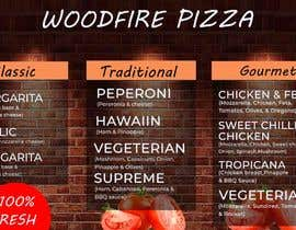 sorwarahmed99 tarafından woodfire pizza menu design için no 20