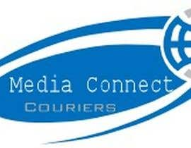 #79 dla Logo Design for Media Connect Couriers przez nasirwattoo