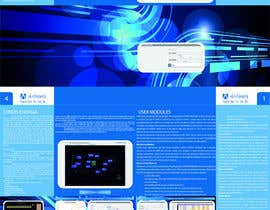 #4 for Brochure Design for Telemetry System Software by Raptorel