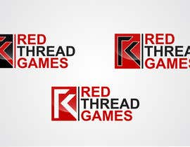 #107 untuk Logo Design for RED THREAD GAMES oleh taganherbord