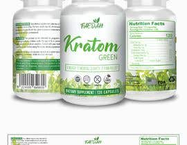 fredrickbalois tarafından Design clean modern packaging for Kratom supplement bottle için no 39