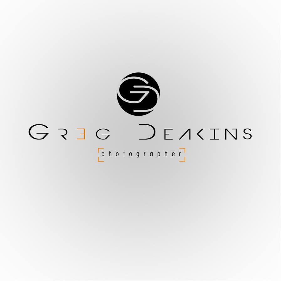 Contest Entry #27 for Logo Design for Greg Deakins - Photographer