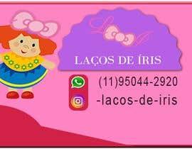 #23 untuk Cartão de Visitas para Loja de Laços para meninas oleh waheedkhan1234