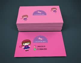 #27 untuk Cartão de Visitas para Loja de Laços para meninas oleh Tusher6