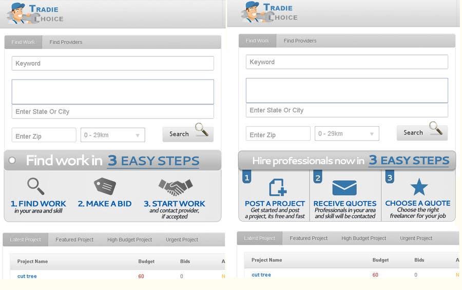Kilpailutyö #                                        39                                      kilpailussa                                         Static Banner Design for Freelancer type website