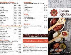 #7 for Design a Three fold Menu leaflet by FarooqGraphics