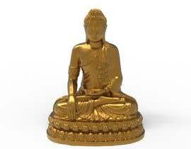 #25 untuk Design a garden Buddha statue oleh sihagarts