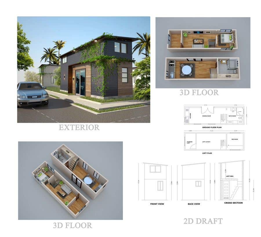 Entry 18 By Archtaslimaakter For Provide Floor Plan And 3d Render