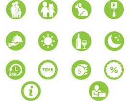 Nro 35 kilpailuun Create a logo and a set off icons/logos and a colour scheme käyttäjältä rehannageen