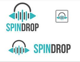 #153 for Spin Drop Logo Design by kmsinfotech