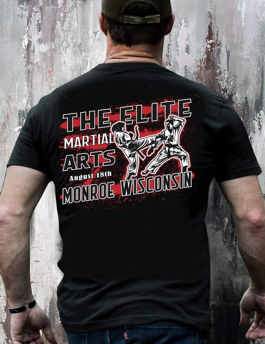 Penyertaan Peraduan #10 untuk Karate Tournament T-Shirt Design