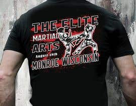 #10 untuk Karate Tournament T-Shirt Design oleh Sourov75