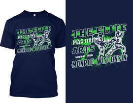#21 untuk Karate Tournament T-Shirt Design oleh Sourov75