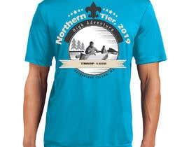 #15 for T-shirt Design for Scout Canoe Trek af Marufahmed83
