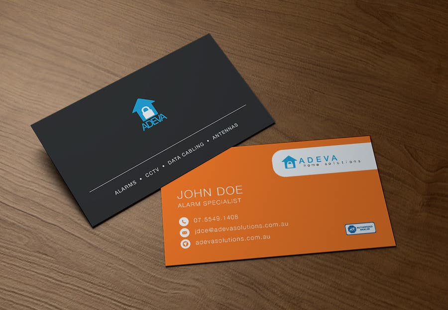 Entry #44 by davez82 for Design Business Cards for Adeva Home ...