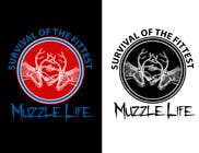 Graphic Design Contest Entry #8 for T-shirt Design for Muzzle Life - Featuring two Buck Deer's in Battle!