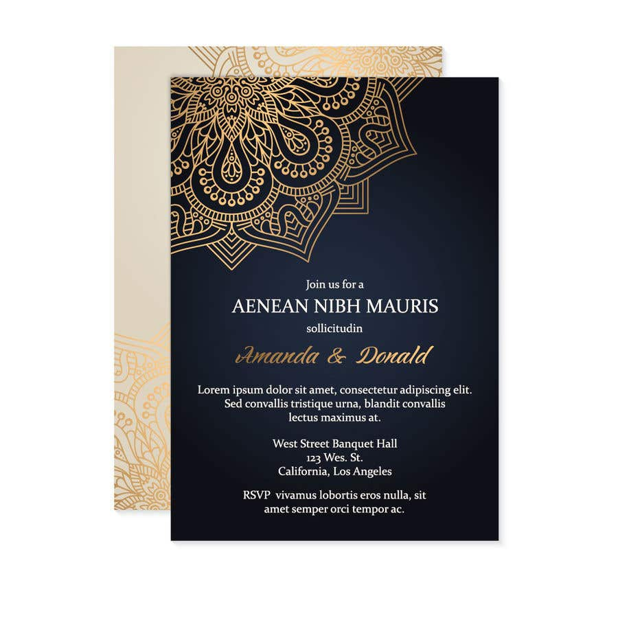 Entry 17 By Munzalinanwar For Get Me A Wedding Invitation Card