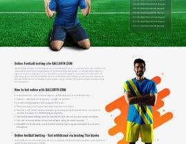 Nro 6 kilpailuun Re-design theme wordpress casino and gambling website. käyttäjältä saidesigner87