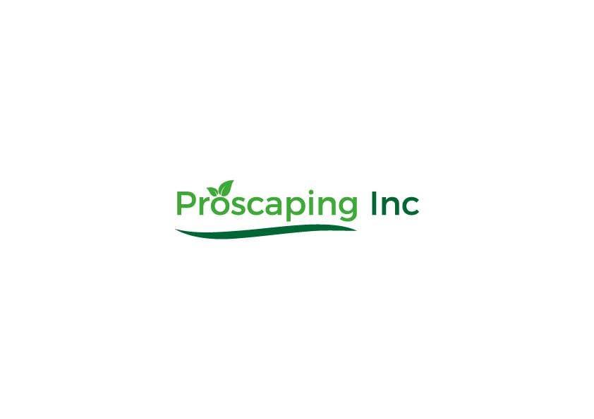 Penyertaan Peraduan #343 untuk Create a Logo for ProScaping Inc.