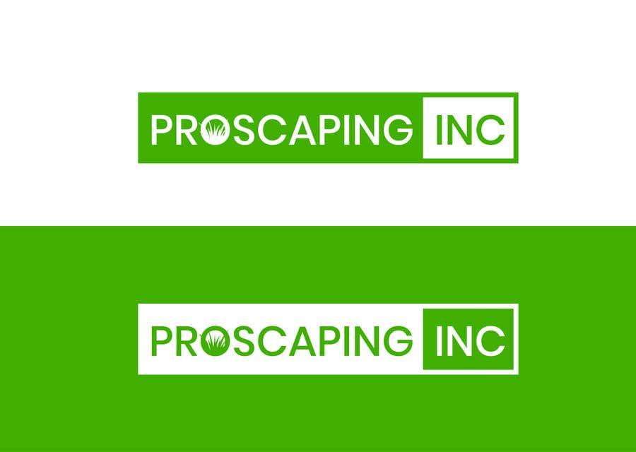 Penyertaan Peraduan #153 untuk Create a Logo for ProScaping Inc.