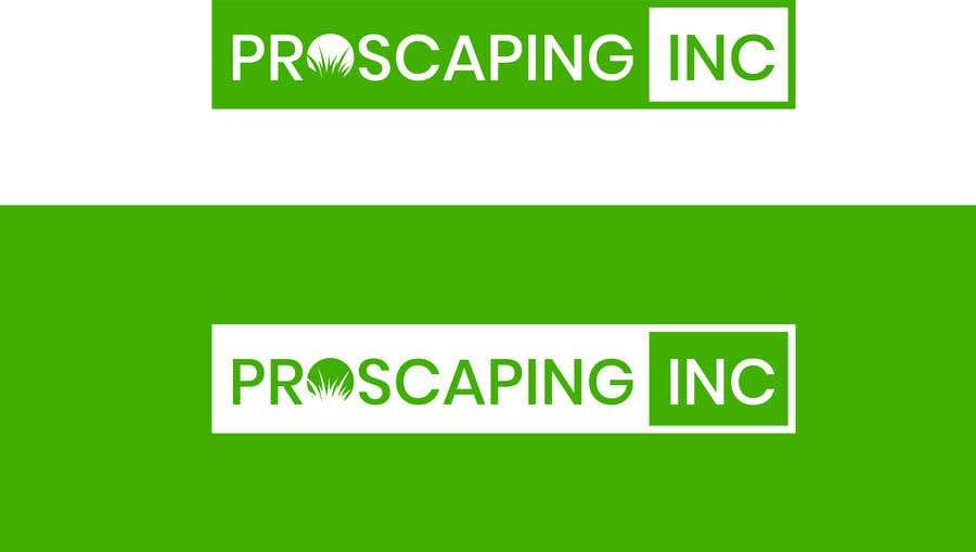 Penyertaan Peraduan #190 untuk Create a Logo for ProScaping Inc.