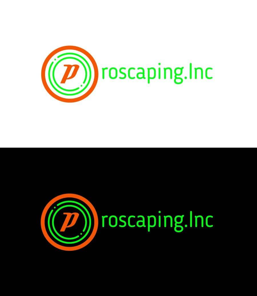Penyertaan Peraduan #277 untuk Create a Logo for ProScaping Inc.
