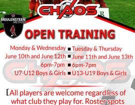 #15 для Need flyer created for open training от Hasan166817