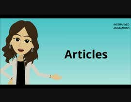 #8 untuk Create a Welcome Video for Virtual English Learning Platform oleh aishasyed1223