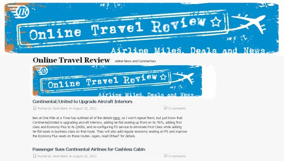 #55 for Create a Site Header for Travel Blog by omzeppelin