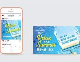 nº 39 pour Summer graphic design advertisement par Nathasia00