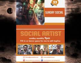 #21 untuk Design a Flyer for Social Artist Events oleh tahira11
