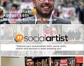 #2 untuk Design a Flyer for Social Artist Travel Events oleh sclamotion