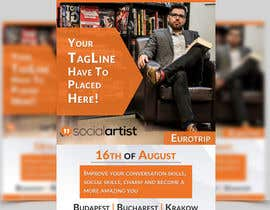 #11 untuk Design a Flyer for Social Artist Travel Events oleh ghani1