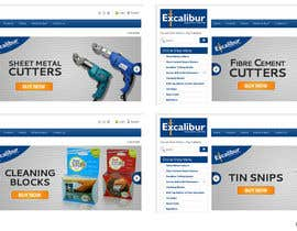 #37 for Banner Ad Design for Excaliburtools.com.au by passion2excel