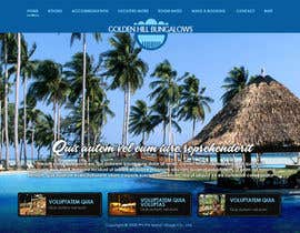 nº 1 pour Website Design for Golden Hill Bungalows Hotel par mughikrish