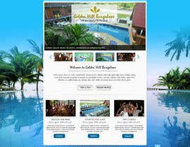 nº 7 pour Website Design for Golden Hill Bungalows Hotel par sayedphp