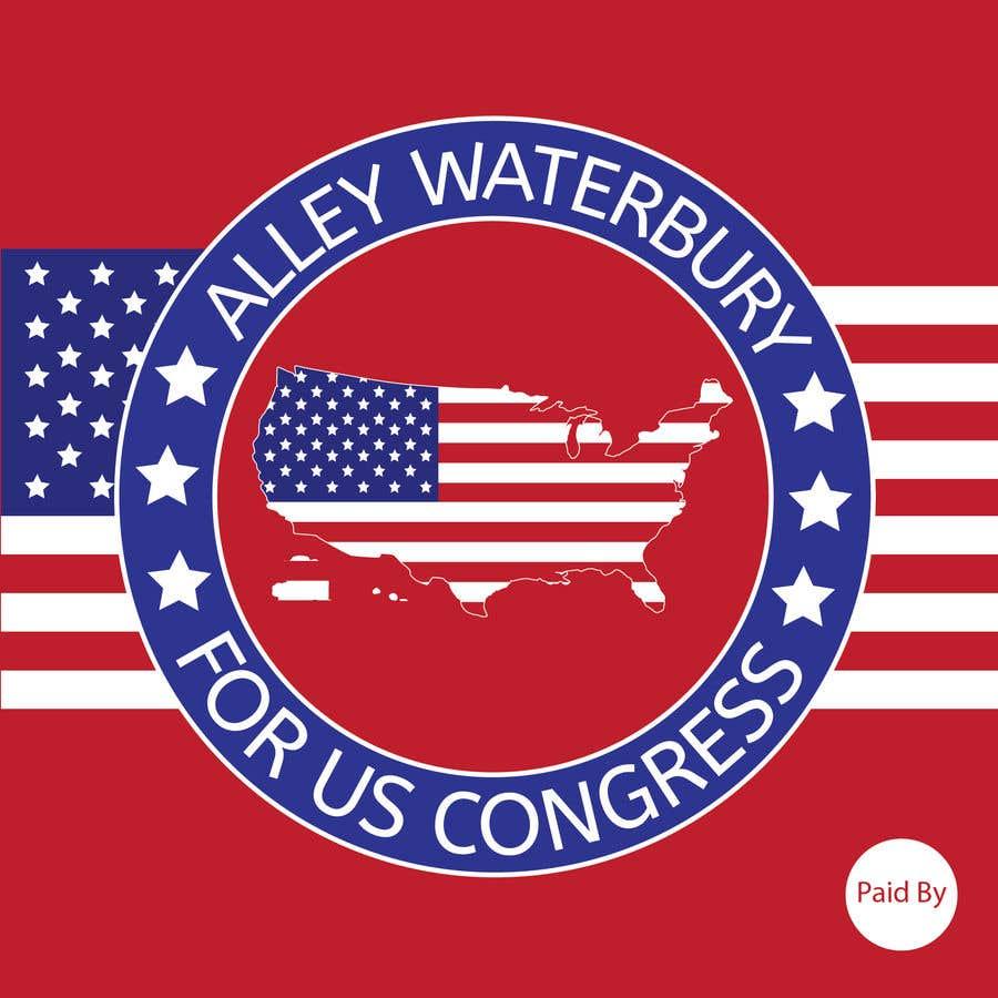 Конкурсная заявка №9 для Alley Waterbury for US Congress