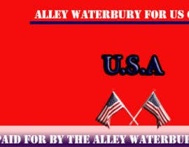 #2 for Alley Waterbury for US Congress by OdayAdly